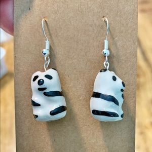 3/$25 Handmade Panda Earrings
